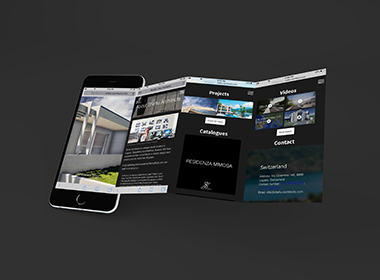 in responsive website you see services